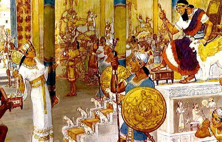 HaOn Israel  city pictures gallery : Queen of Sheba Ethiopia and Solomon Israel Kingdom
